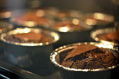 Cup cakes (PanayiotisPi) Tags: brown home cake lava sweet chocolate made