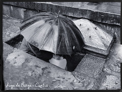 Auga da Burga - Cuntis (Luscofusco_Gz) Tags: costumes bn galiza fonte pedra quente termas auga balneario chuvia termal luscofusco choiva burga ruareal termalismo cuntis bañoromano martiñopicallo calidae irporauga aquascalidas