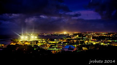 Guam Night Cityscape (orgazmo) Tags: lumix landscapes cityscapes olympus panasonic nightshots bluehour guam omd nightscapes agana em1 hagatna micro43s lumixgvario714mmf4 m43s omdem1