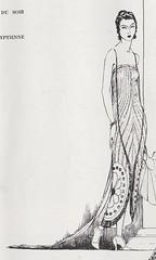 Robe du soir 1921 (.pintuck) Tags: 1920s egyptian eveninggown 1921 1920sstyle vogueparis robedusoir madeleineetmadeleine robedusoir1921 eveningdresswtrain