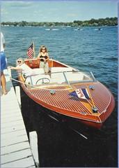 classic speed boat