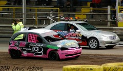 #2 Ellie Dawson Aftermath (Lewis Adams Photography) Tags: uk cars race aftermath action stadium stock racing rods banger bangers rookie oval ipswich foxhall stockcars bangerracing foxhallstadium ovalracing rookierods