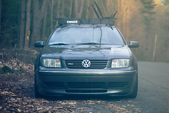 =D (Amir Hamdi) Tags: road wood roof 6 field vw speed forest canon volkswagen lens outside outdoors photography rebel 50mm design spring woods designer connecticut turbo rack amir jetta gli shallow 18 bbs rc depth 18t fifty charged nifty hamdi 550d grpahic t2i