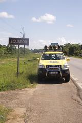 444 AFR on Uganda Equator