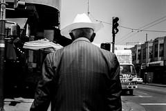 Untitled (Joris_Louwes) Tags: light hat dark back