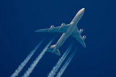 Etihad Cargo Boeing 747-87U(F) N855GT (Thames Air) Tags: etihad cargo boeing 74787uf n855gt contrails telescope dobsonian overhead vapour trail