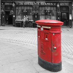 The Sherlock Holmes (DepictingPhotos) Tags: england london pubs postboxes