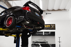 Subaru STI | #BagsByBoden | Boden Autohaus (Boden Autohaus) Tags: suspension air subaru sti boden autohaus subarusti accuair avantgardewheels accuairsuspension bodenautohaus