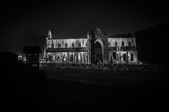 "Tintern Abbey @ Night • <a style=""font-size:0.8em;"" href=""http://www.flickr.com/photos/32236014@N07/15908814394/"" target=""_blank"">View on Flickr</a>"