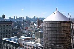 20150203 (Andy Atzert) Tags: winter newyork building rooftop cityscape manhattan watertower
