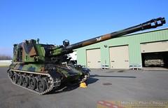 AMX AUF1 du 40ème régimet d'artillerie (Model-Miniature / Military-Photo-Report) Tags: self canon french 1 photo gun military report mm ra auf amx 155 propelled howitzer 155mm auf1 régiment automoteur modelminiature dartillerie 40ème suippes amxauf1