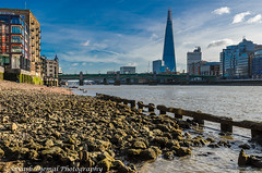 DSC_3707.jpg (Sav's Photo Gallery) Tags: city uk abstract london beach thames river shadows rope shard riverthames brickwork southwarkbridge d7000 savash