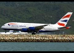 A380-841 | British Airways | G-XLEA | HKG (Christian Junker | Photography) Tags: nikon nikkor d800 d800e dslr 70200mm teleconverter aero plane aircraft airbus a380841 a380800 380 a388 a380 britishairways speedbird ba baw ba25 baw25 speedbird25 gxlea oneworld super widebody arrival landing 07l touchdown smokytouchdown airline airport aviation planespotting 095 hongkonginternationalairport cheklapkok vhhh hkg hkia clk hongkong sar china asia lantau spottingbyboat christianjunker wwwairlinersnet flickraward flickrtravelaward worldtrekker superflickers hongkongphotos zensational