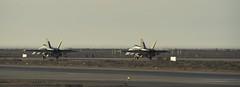 Operation IMPACT (RCAF-ARC) Tags: morning plane outdoor wideshot international mission hornet kuwait pilot avion matin exterieur planlarge cf188 opimpact14 november092014 is20147535 opimpact141