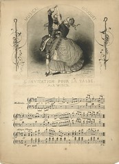 L'invitation pour la valse (Faculty of Music, Trinity Laban) Tags: musical bouquet sheetmusic dancemusic waltzes bridgememoriallibrary