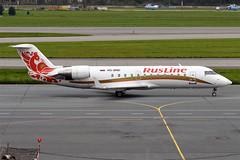 Rusline, VQ-BND, Canadair CRJ-100ER (Anna Zvereva) Tags: plane airport aviation airbus boeing spotting dme domodedovo  uudd