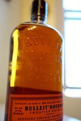 Today's acquisition: a bottle of Bulleit bourbon (Z!SL) Tags: newyork bottle dof bokeh sony beverage whiskey depthoffield drinks alcohol whisky carlzeiss bokehwhores bokehwhore sonyphotographing minoltaemount sel24f18z sonnarte1824 nex5r sonnar2418za