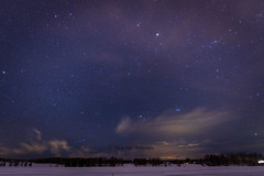 ATA_8297-E (Photographer Atacan Ergin) Tags: winter sky stars talvi taivas tähdet iisalmi tähti tähtitaivas