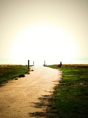 On the Path to Nowhere (geoffleppard1) Tags: nature landscape texas country fujifilm roadside westtexas xs1