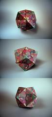 12 unit Lorence Sonobe variation - Maria Sinayskaya (Rui.Roda) Tags: origami maria modular 12 papiroflexia variation unit sonobe lorence papierfalten sinayskaya