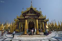 Shwedagon Zedi Daw (Karnevil) Tags: hot gold golden nikon asia afternoon yangon burma buddhism myanmar dagon shwedagonpagoda rangoon d610 goldenpagoda shwedagonzedidaw fotoartistry greatdagonpagoda okkalapaofburma petekrepsphotography kinghsinbyushin