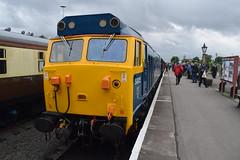 50 035 (Midland Red FanBoy) Tags: travel england train trains transportation severnvalleyrailway kidderminster class50 passengertrains severnvalleyrailwayspringdieselgala