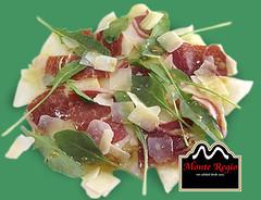 Ensalada de rcula, parmesano y jamn ibrico Monte Regio (Monte Regio) Tags: ham monte jamn regio ibrico