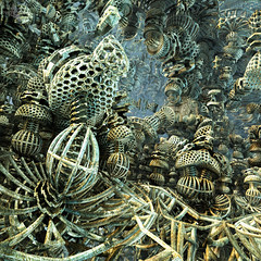The Termite Factory (Mr Bultitude) Tags: 3d fractal mandelbulb
