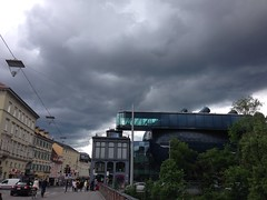 May 13, 2016 2:47pm 04 (seriouscatlady) Tags: street city sky nature rain weather clouds buildings river dark grey afternoon wind cloudy strasse natur himmel wolken grau windy stadt graz fluss gewitter gebude regen wetter frhling iphone wolkig regenwetter cloudyday unwetter nachmittag bewlkt windig dster iphoneography