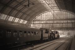 Sonderzug (tramlijn30) Tags: station amsterdam br db cs 23 centraal stoomtrein vsm 23071 23076