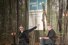 """Jean-Michel Jarre - Sónar+D - Sónar 2016 - Jueves - 2 - M63C8799 • <a style=""""font-size:0.8em;"""" href=""""http://www.flickr.com/photos/10290099@N07/27116477193/"""" target=""""_blank"""">View on Flickr</a>"""