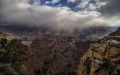 Time passes irrevocably ~ Virgil (John A. McCrae) Tags: morning arizona southwest weather landscape scenery unitedstates grandcanyon canyon southrim pentaxk5