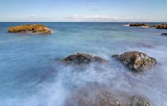 Espuma (sergio estevez) Tags: verde azul marina mar rocas espuma estrechodegibraltar sergioestevez