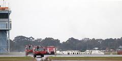 Panthers responding (adelaidefire) Tags: rescue fire airport aircraft air south australian australia ambulance adelaide service sa asa fighting panther metropolitan services mfs saas rosenbauer arff samfs ypad sasgar
