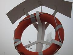 Harbour wheel (navarrodave80) Tags: rescue wheel misty fog dave canon harbour ustka chmiel