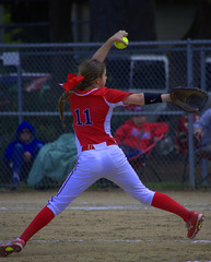 The Wind Up (swong95765) Tags: woman game sport female action softball windup pitcher