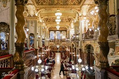 Caf New York - Budapest (Txulalai) Tags: travel arquitectura monumento sony budapest barroco hungra cafnewyork sonyalpha6000 sonya6000 sonyilce6000