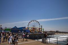 Looking Back from the End (etzel42) Tags: ocean california santa ca pier santamonica socal monica boardwalk westcoast