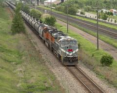 NS 8025 at Red Rock (mtuswan) Tags: new railroad train ns bn newport mn bnsf monongahela norfolksouthern burlingtonnorthern burlingtonnorthernsantafe