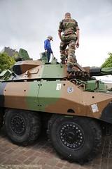 AMX-10 RCR du 3me Rgiment de Hussards de Metz (Model-Miniature / Military-Photo-Report) Tags: ri juin abc 18 arsenal metz musique 1er journe dfense orchestre 2016 arme solidarit blind