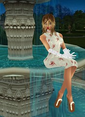 16 (SoakinJo) Tags: highheels wetlook wetclothes imvu wetdress extremeheels