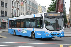 Translink Ulsterbus 447 BFZ8447 (Will Swain) Tags: belfast 9th june 2016 bus buses transport travel uk britain vehicle vehicles county country northern ireland balfast city centre translink ulsterbus 447 bfz8447 bfz 8447