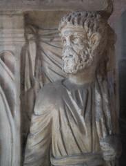 Sarcophagus, San Saba (Robert Barone) Tags: italy rome roma italia commute sarcophagus aventino fragments sansaba ancientrome micro43 panasonicgm1