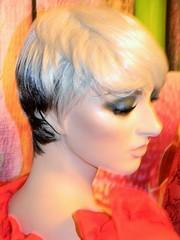 Decter Mannequin (capricornus61) Tags: portrait woman art mannequin window face shop female doll display feminine makeup indoor dummy figur collecting puppe sammeln decter