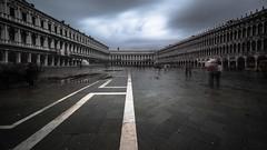 Piazza (thatsCHRiSPiX) Tags: venice italy motion rain architecture clouds nikon san long exposure italia day wide rainy marco venezia 1024 langzeitbelichtung markusplatz weitwinkel d810