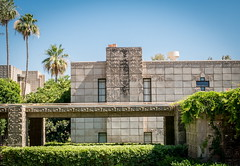 Biltmore Hotel designed by Frank Lloyd Wright and his student Albert Chase McArthur (1929) (tconelly) Tags: phoenix architecture may az biltmore 2016 canong15