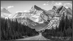 Mt. Christie & Brussels (Maclobster) Tags: brussels point rockies mt peak canadian mount parkway christie vanishing icefield