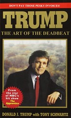 TRUMP: The Art of the Deadbeat (Mike Licht, NotionsCapital.com) Tags: politics books business parody celebrities donaldtrump trump gop republicans bookcovers unpaidbills businessmen presidentialpolitics deadbeats celebritybooks artofthedeal dealmakerinchief celebritytvstars