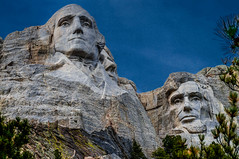 Can not tell a lie George & Honest Abe--DSC0065--Mount Rushmore, South Dakota (Lance & Cromwell back from a Road Trip) Tags: southdakota sony roadtrip nationalparkservice mountrushmore rocksculpture 2016 sonyalpha mountrushmoresd
