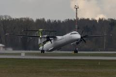 YL-BAI De Havilland Canada DHC-8-402 Dash 8  BTI Air Baltic  RIX (sauliusjulius) Tags: canada de air 8 baltic dash riga rix bti havilland evra dhc8402 ylbai